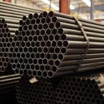 cylindrical round steel-pipe